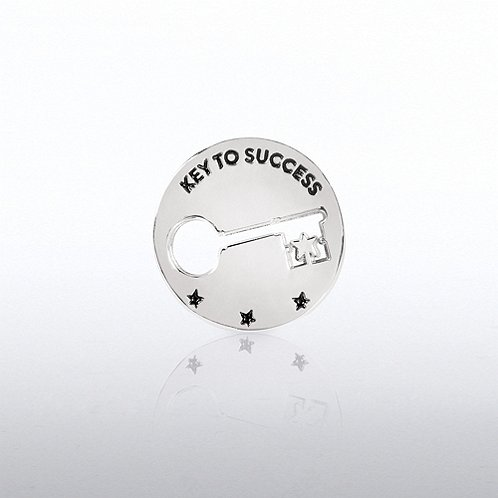 Key to Success Milestone Lapel Pin