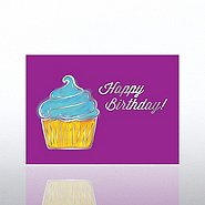 Classic Celebrations - Birthday Watercolor-Birthday Cupcake