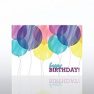 Classic Celebrations -Birthday Watercolors- Bithday Balloons