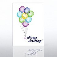 Classic Celebrations - Birthday Watercolor - Balloon Bunch