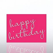 Classic Celebrations - Deluxe Foil Birthday- Birthday Script