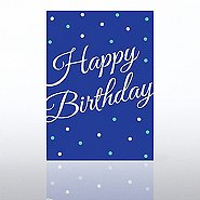Classic Celebrations - Deluxe Foil Birthday - Foil Dots