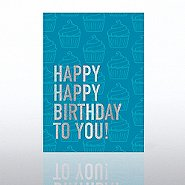 Classic Celebrations Card - Happy Happy Birthday to You!