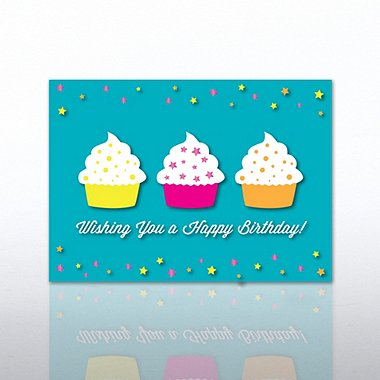 Classic Celebrations - Wishing you a Happy Birthday-Cupcakes