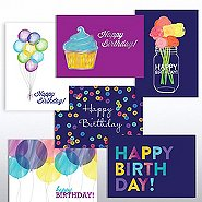 Classic Celebrations - Birthday Watercolor Assortment