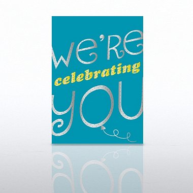 Classic Celebrations - We're Celebrating You Teal