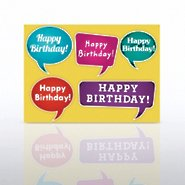 Classic Celebrations - Happy Birthday Quote Bubbles