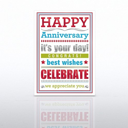 Lots of Ways Anniversary Greeting Card