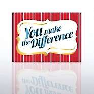 Classic Celebrations - You Make the Difference Plaque