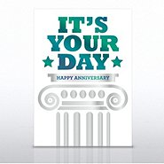 Grand Events - Happy Anniversary It's Your Day - Pillar