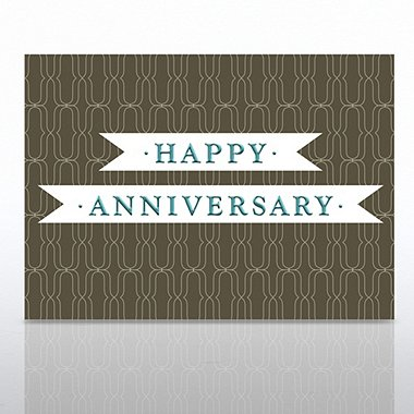 Grand Events - Happy Anniversary - Ribbon