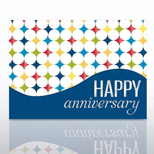Diamonds Happy Anniversary Greeting Card