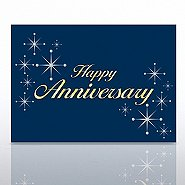 Grand Events - Happy Anniversary - Silver Stars