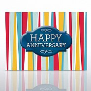 Grand Events - Happy Anniversary - Stripes