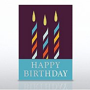 Grand Events - Happy Birthday Candle Trio
