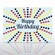 Grand Events - Happy Birthday Colored Dots