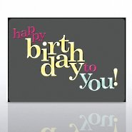 Grand Events - Happy Birthday to You