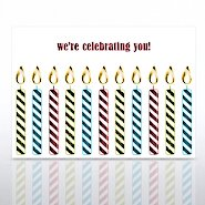 Grand Events - Happy Birthday We're Celebrating You Candles