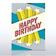 Grand Events - Happy Birthday Shooting Stars