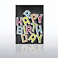 Classic Celebrations - Happy Birthday -  Letters