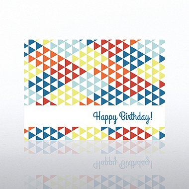 Classic Celebrations - Happy Birthday Triangles
