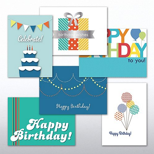 Happy Birthday Greeting Card Assortment