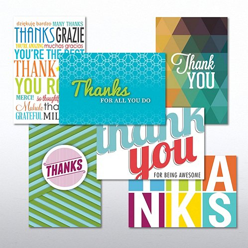 Thank You Value Greeting Card Assortment