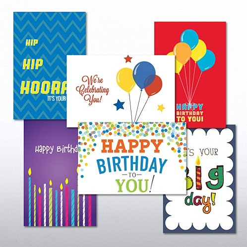 Happy Birthday Classic Value Greeting Card Assortment