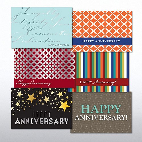 Happy Anniversary Value Greeting Card Assortment