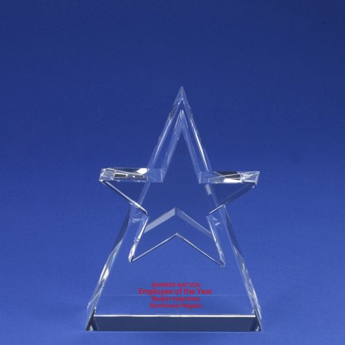 Colossal Star Crystal Trophy