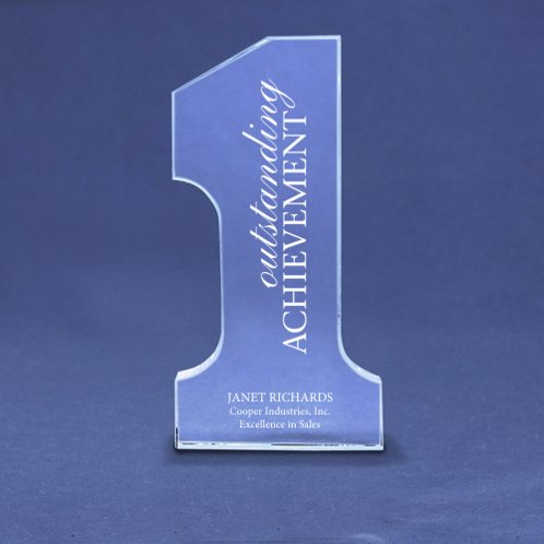 Champion Glass Trophy