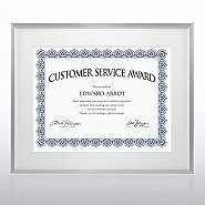 Certificate Holder - Stainless