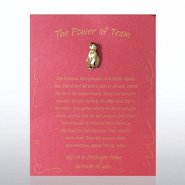 Character Pin - Penguin: The Power of Team - Red Card