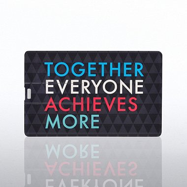 USB Credit Card - Together Everyone Achieves More