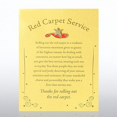 Character Pin - Red Carpet Service