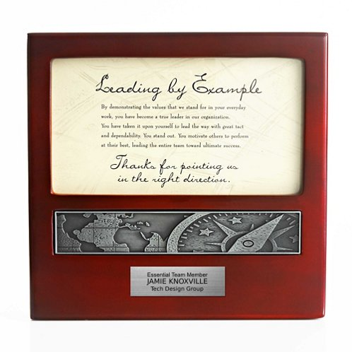 Compass: Leading by Example Character Impressions Trophy