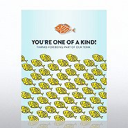 Character Pin - Fish: You're One of a Kind!