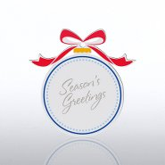 Holiday Ornament - Globe Ornament