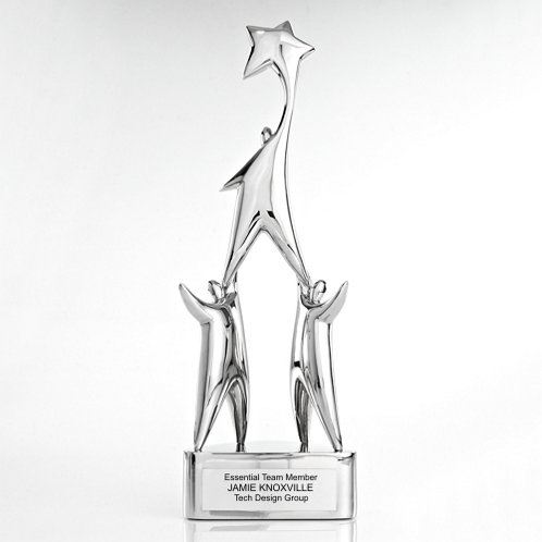 Star Achievement Time to Shine Trophy