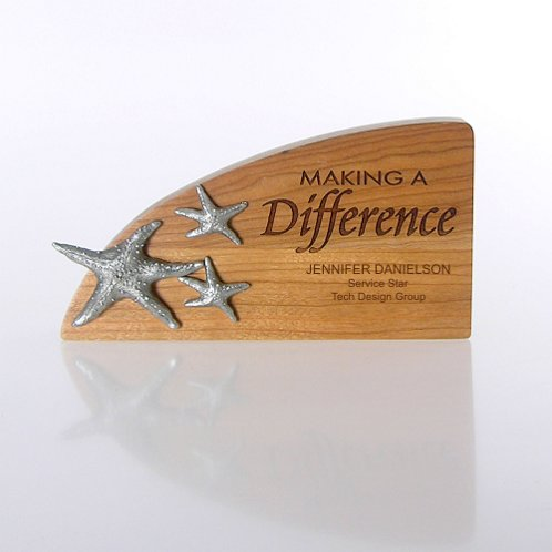 Starfish: Making a Difference Character Trophy