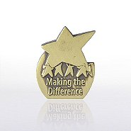 Lapel Pin - Eclipse - Making the Difference Results Star