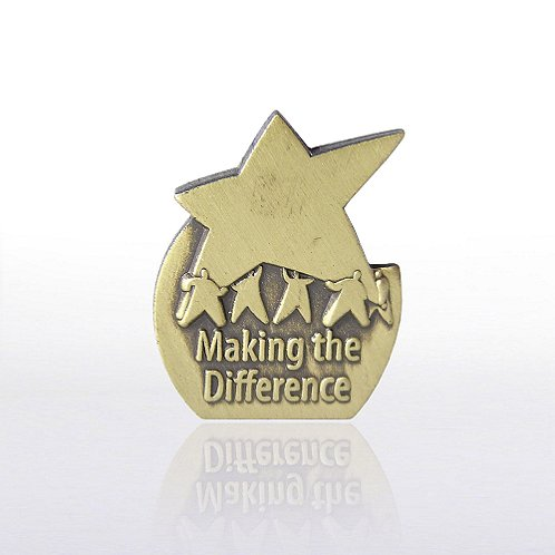 Eclipse - Making the Difference Results Star Lapel Pin