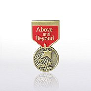 Lapel Pin - Medal - Above & Beyond