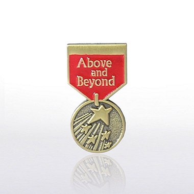 Lapel Pin - Medal - Above & Beyond