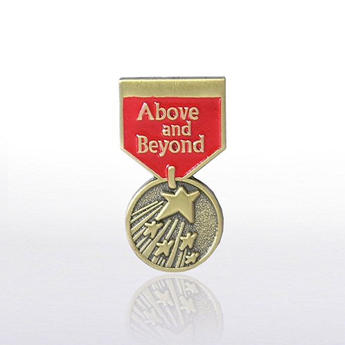 Above & Beyond - Medal Lapel Pin