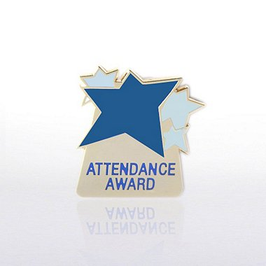 Lapel Pin - Attendance Award