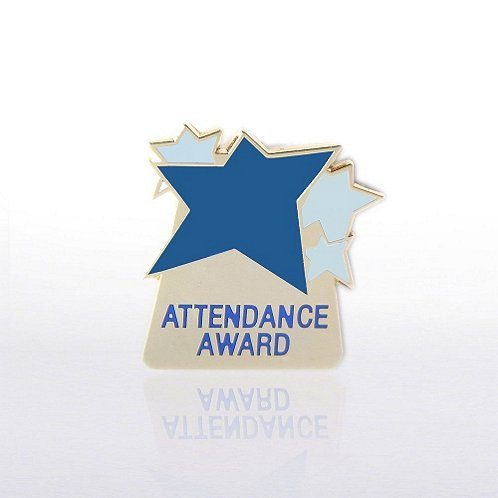 Attendance Award Lapel Pin