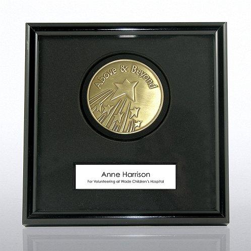 Above and Beyond Framed Medallion