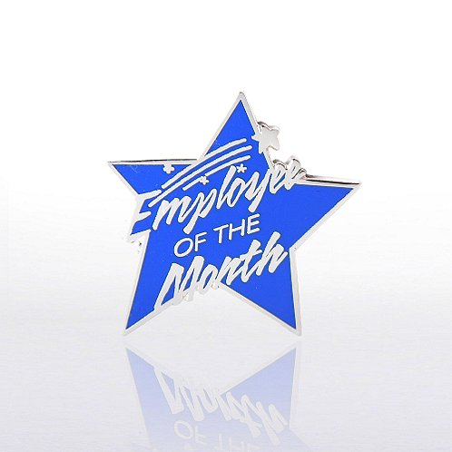 Employee of the Month - Multi Color Lapel Pin