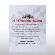Character Pin - Checkered Flag: A Winning Team